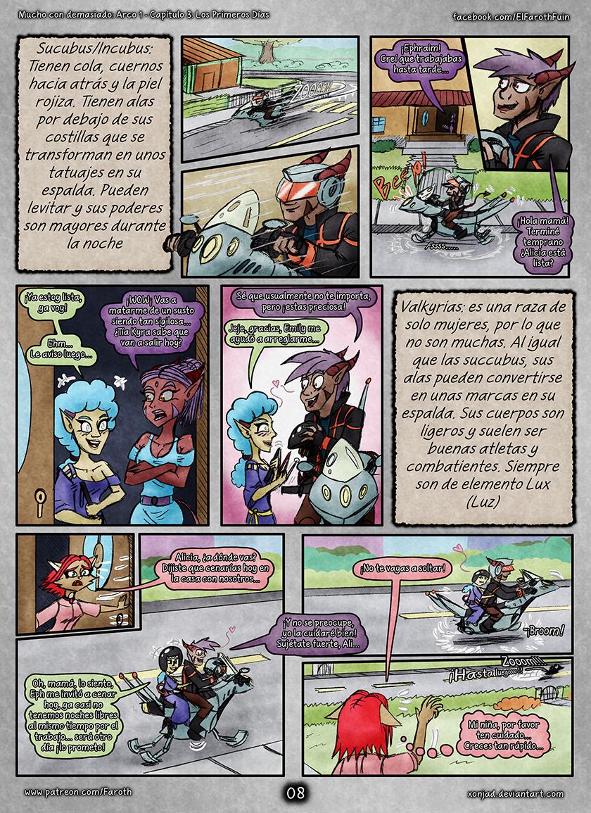 Cap 4 - Pag 08: Succubus, Incubus y Valkyrias